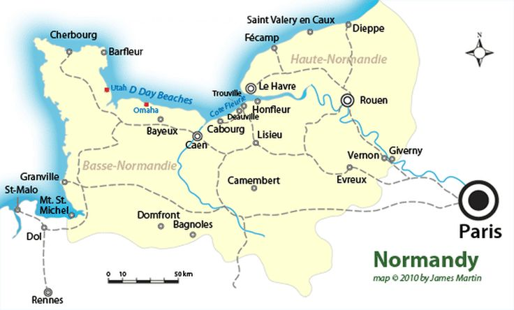 The Top Cities and Beaches in Normandy