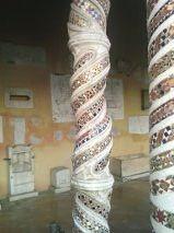 Colonne tortili - Chiostro Basilica San Paolo Fuori le Mura