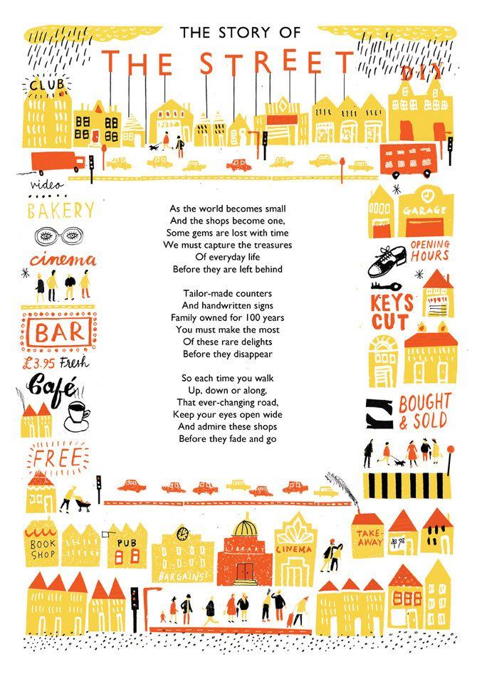 The Street - Louise Lockhart | Illustration | Design | The Printed Peanut