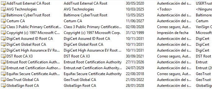 Hispasec @unaaldia: Un nuevo certificado fraudulento, esta vez de Micr...