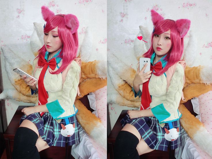 Academy Ahri League of Legends by RinnieRiot on DeviantArt