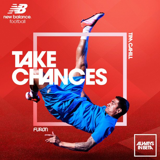 FLIPP Management | Neil Bailey for New Balance and Tim Cahill #football