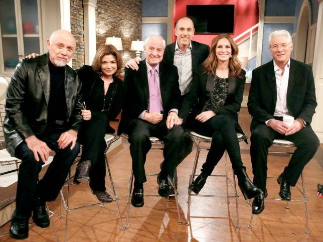 Cast of Pretty Woman meet up for 25th anniversary and it's amazing