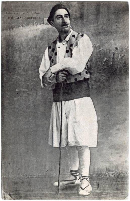 Visor Archivo General Región de Murcia. FOT_POS,05/097 / Huertano.c.1900