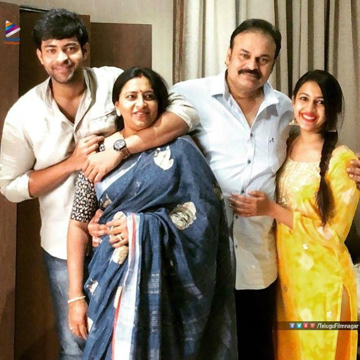 Pin On Naga Babu With Family