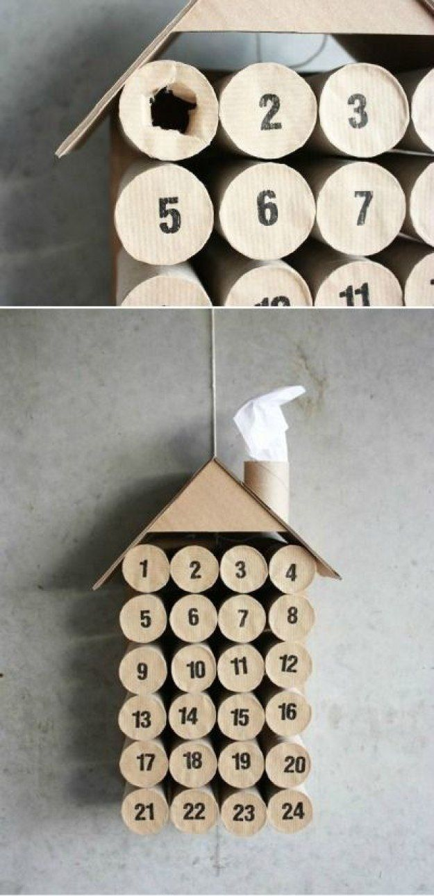 Send relatives a fun and modern advent calendar. http://www.jexshop.com/