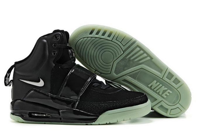 Nike Air Yeezy black white 1 man shoes HOT SALE! HOT PRICE!