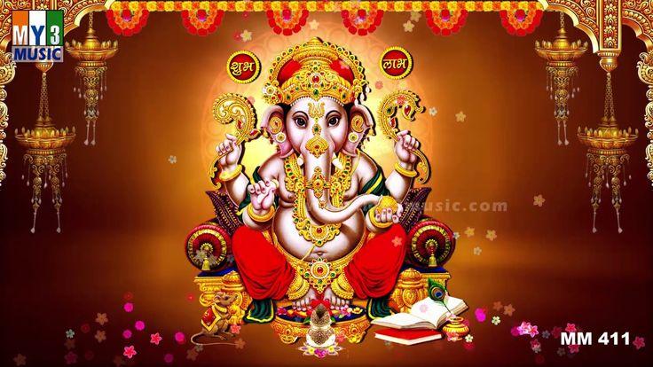 Shree Ganesh Mantra - Most Powerful Mantra - Om Gan Ganpate Namo Namah -...