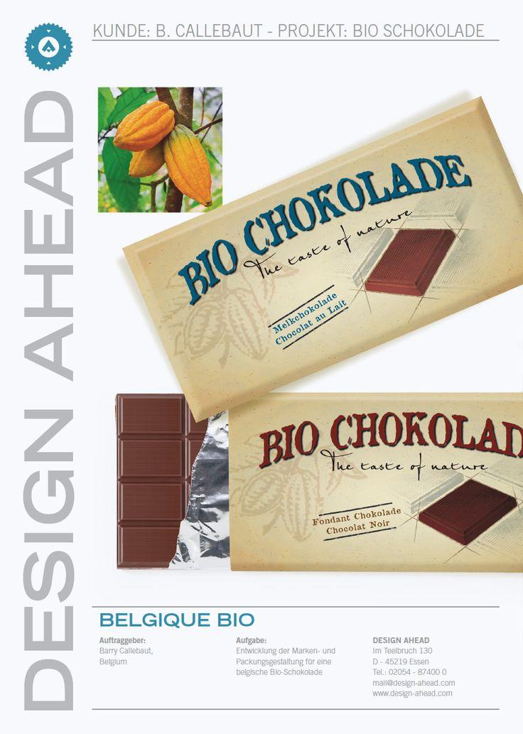 Packaging Design Bio-Schokolade