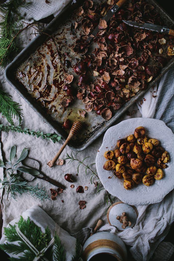 Roast Chestnuts by Eva Kosmas Flores   Adventures in Cooking