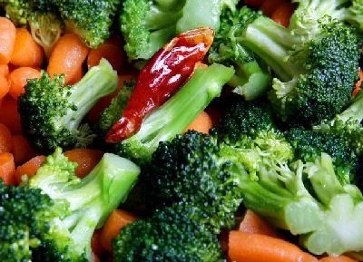 Vegetables are part of a colon cleansing diet