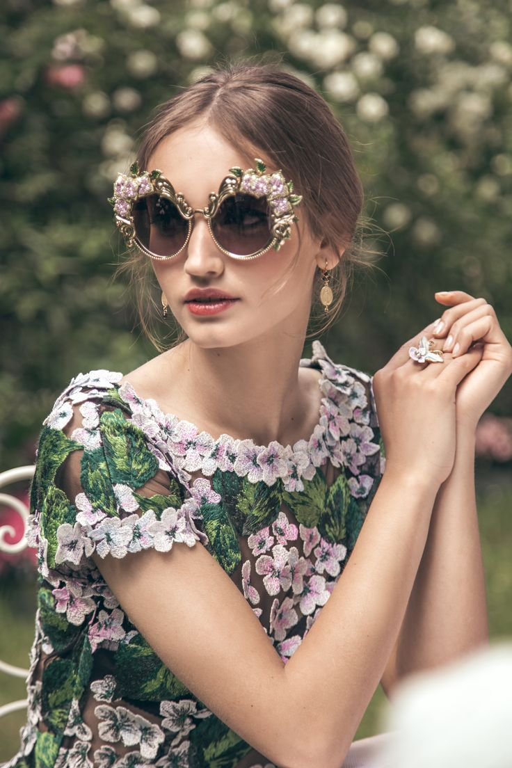 The new Ortensia Eyewear collection will instantly give you a look of effortless luxury   #DGOrtensia #DGEyewear #DGWomen