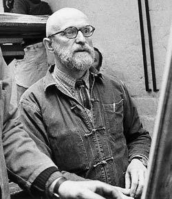 PIERRE ALECHINSKY (BRUSELAS, 1927) Pintor y artista gráfico belga. Estudia en la Escuela Nacional Superior de Arquitectura y Artes Decorativas de Bruselas. Es representante del expresionismo abstracto, con una fuerte influencia del surrealismo y de las técnicas desarrolladas por el action painting estadounidense.