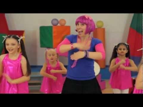 Debbie Doo Dance Song For Kids - Roll Your Hands - With Dance School - YouTube