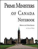 Prime Ministers of Canada Notebook online for only $4.99