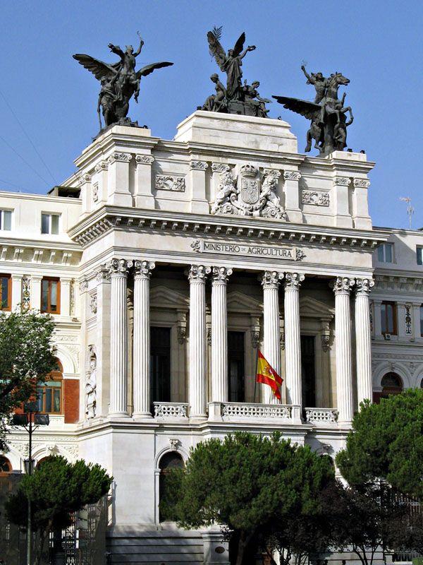 Madrid (España). Ministerio de Agricultura (año 1897)