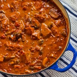 Pork with Paprika, mushrooms and sour cream - made this and was literally (literally!!!!) licking the bowl.