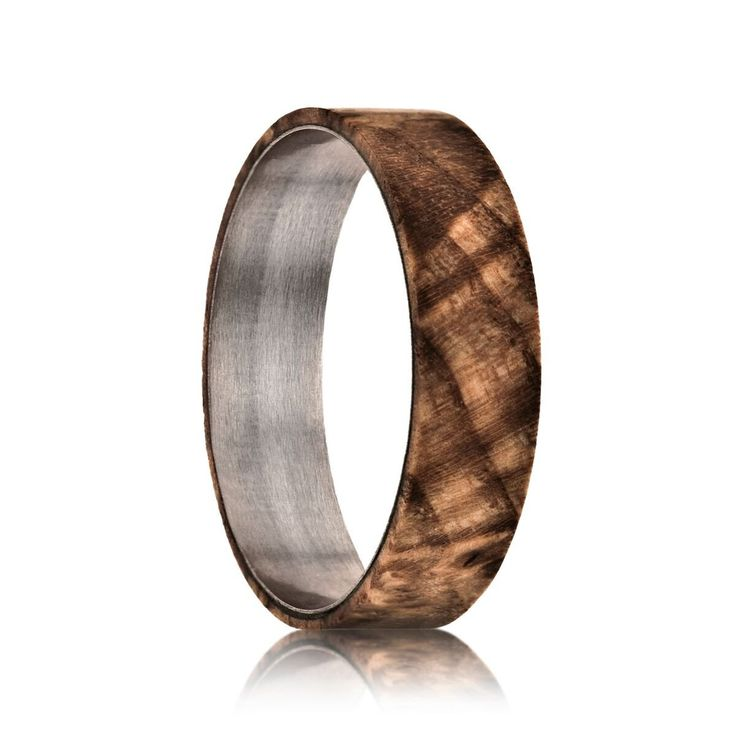 TWIST Ash Wood Insert | Basic Ring Sold Separately