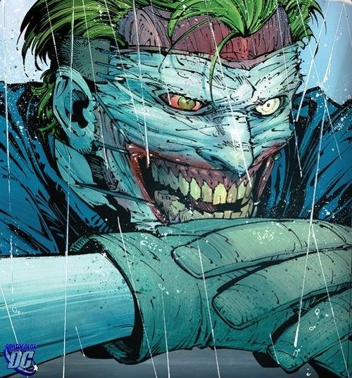 New Joker cut his fucking face off and then stapled it ...  New Joker cut h...