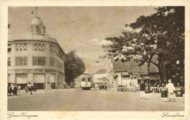 Tunjungan di awal 1920