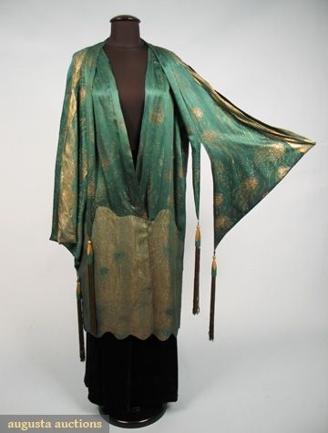 1920s coat via Augusta Auctions
