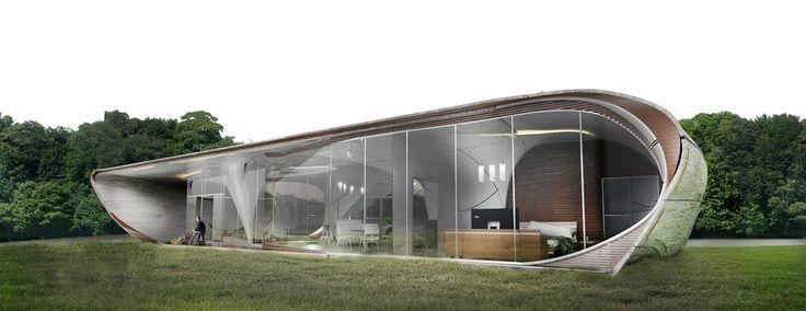 La toute première maison de forme libre imprimée en 3D