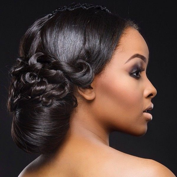 1000+ images about Nigerian Wedding Hairstyles on Pinterest | Makeup inspiration, Nigerian bride ...