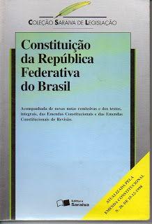 Sebo Felicia Morais: Constituição da República Federativa do Brasil