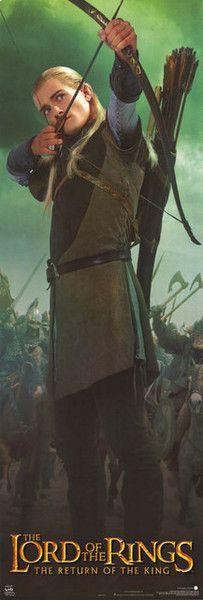 Lord of the Rings Legolas Poster 21x62 – BananaRoad