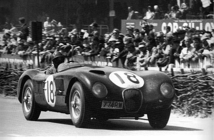 Jaguar C-Type Le Mans 1953 Winner
