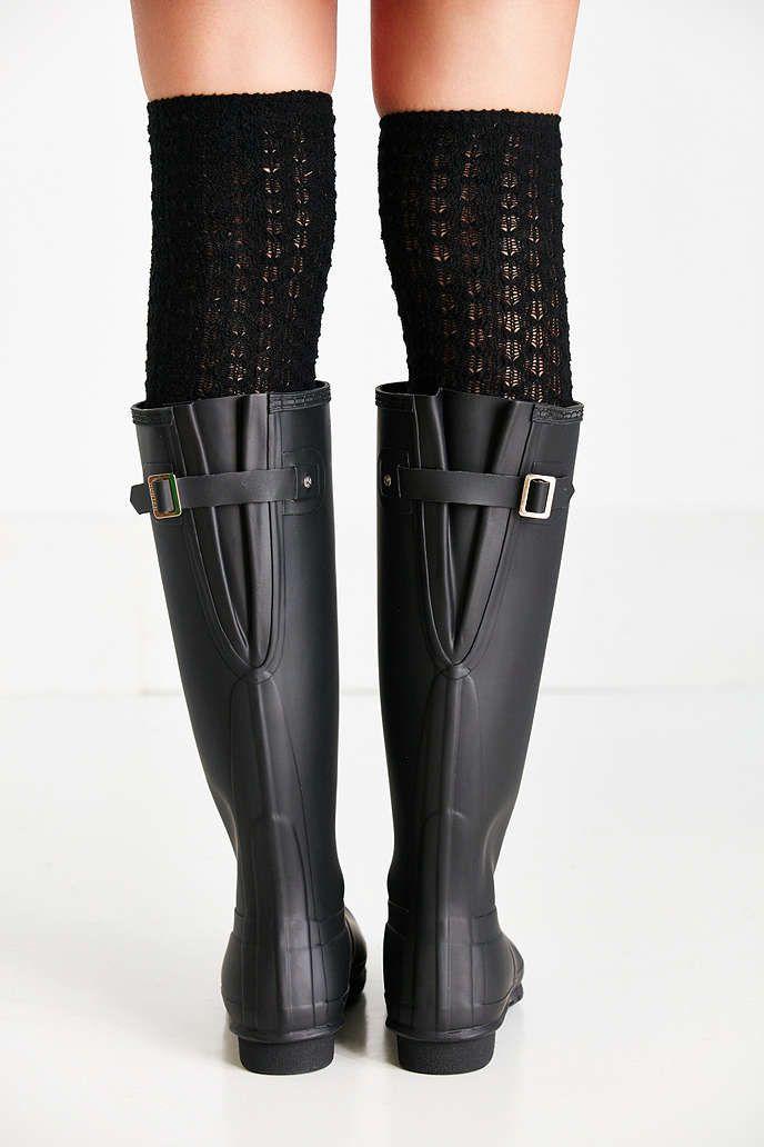 hunter original adjustable back tall rain boot clothes