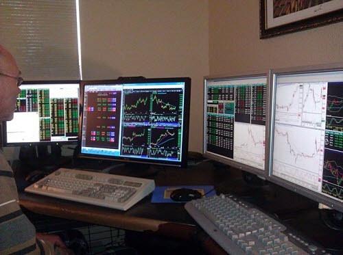 Forex trader setup