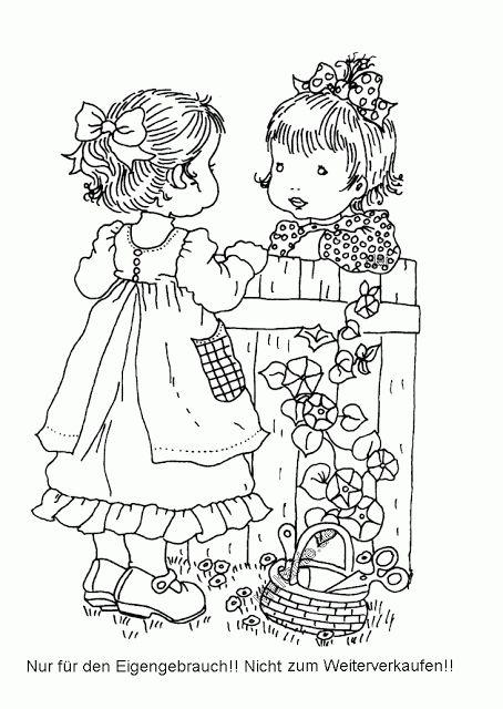 Mais desenhos da Sarah kay para colorir | Desenhos e Riscos - Desenhos para colorir
