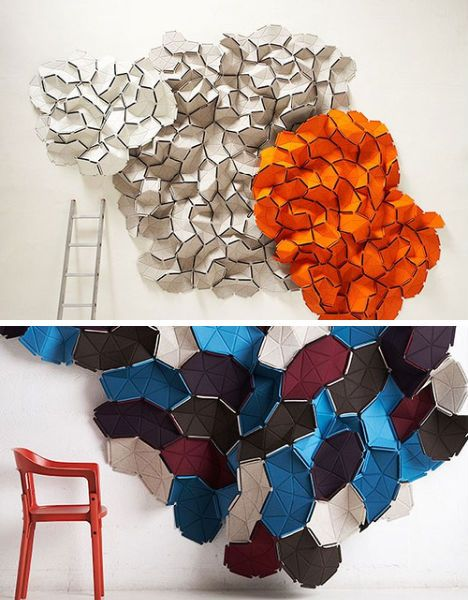 Clouds / modular textiles by Erwan and Ronan Bouroullec.