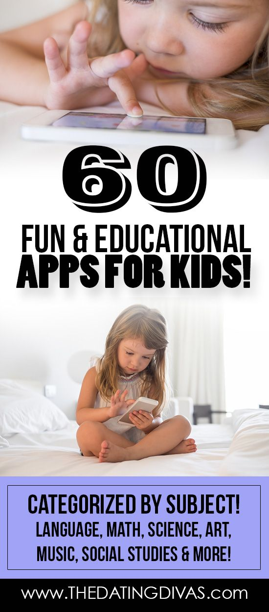 The best educational apps picked by moms and their kids.  It's even categorized into the different subjects.   A great resource! www.TheDatingDivas.com