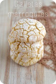 GALLETAS MARROQUIES/  Bocados Divinos ♥: Galletas marroquíes (de almendras)