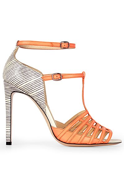 Now tis you can walk around in all day. Note the distance between heel and base? Your feet won't cramp up.