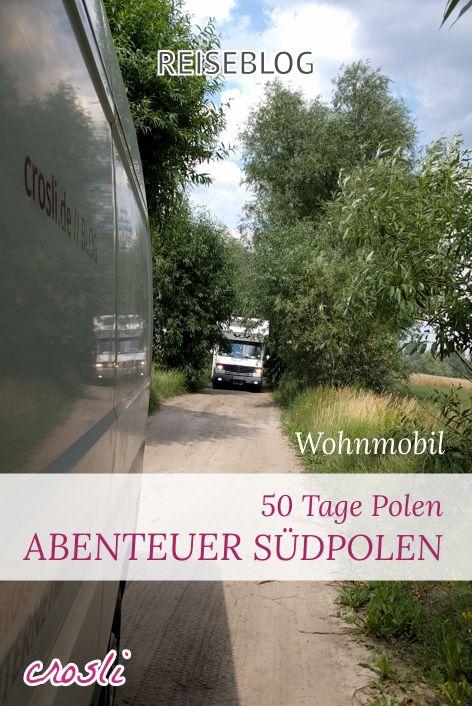 Wohnmobil Reiseblog: ein kleiner Reisebericht aus Polen. Freistehen in toller Natur, Wildcamping in Perfektion :-D
