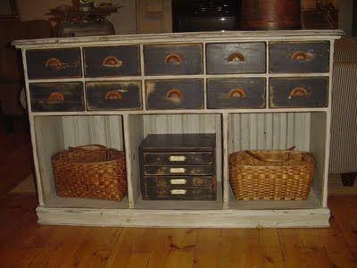 Pine Sampler Furniture: Primitive Furniture