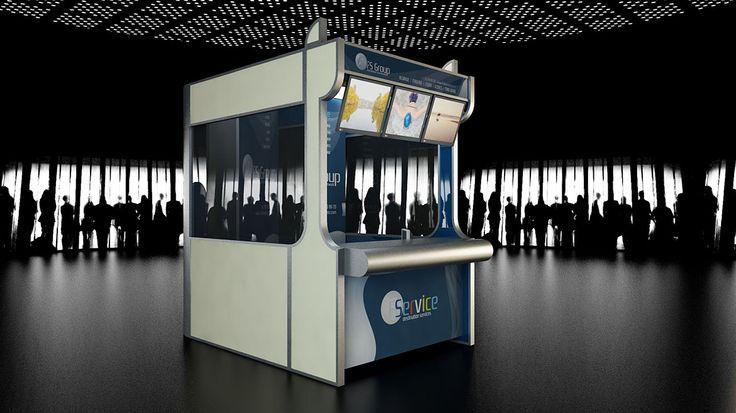 Balcão Aeroporto Faro - Imagine virtual