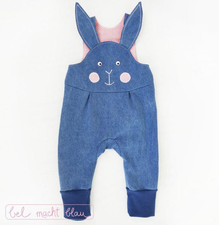 Pokyny pro sladkou králičích montérky (dětské kalhoty Mikey varianty)