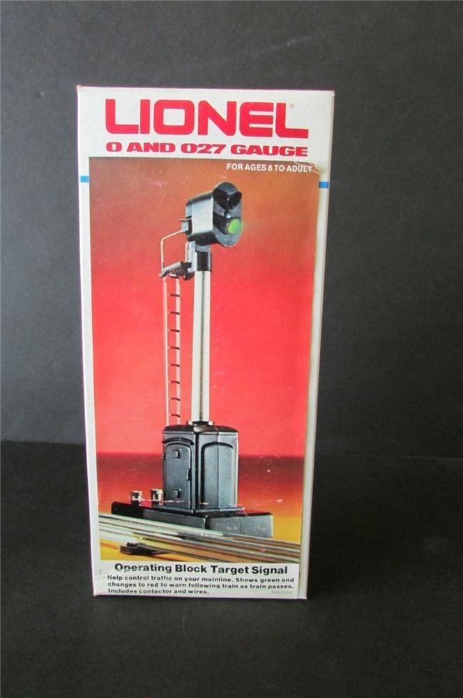 Lionel 6-2117 Operating Block Target Signal w/ Box