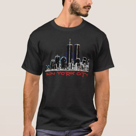 Retro 1980's New York City Skyline T-Shirt - click to get yours right now!