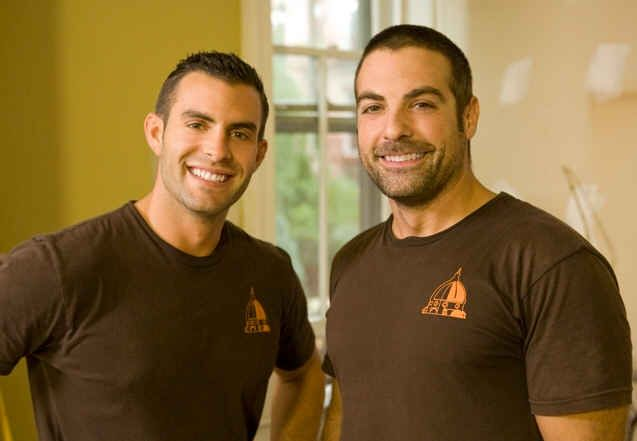 Cousins on Call (HGTV) - John Colaneri and Anthony Carrino (respectfully)AWWWWW I NEED THESE GUYS AT MY HOUSE