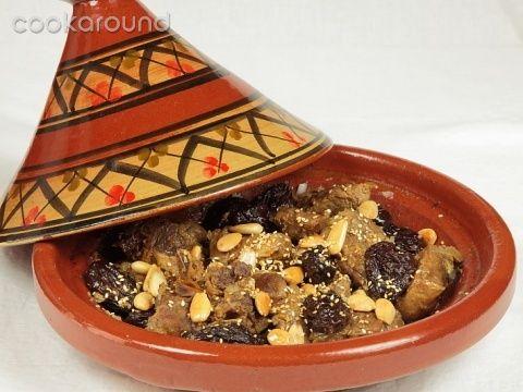 Carne e prugne cotte con il tajine: Ricette Marocco   Cookaround