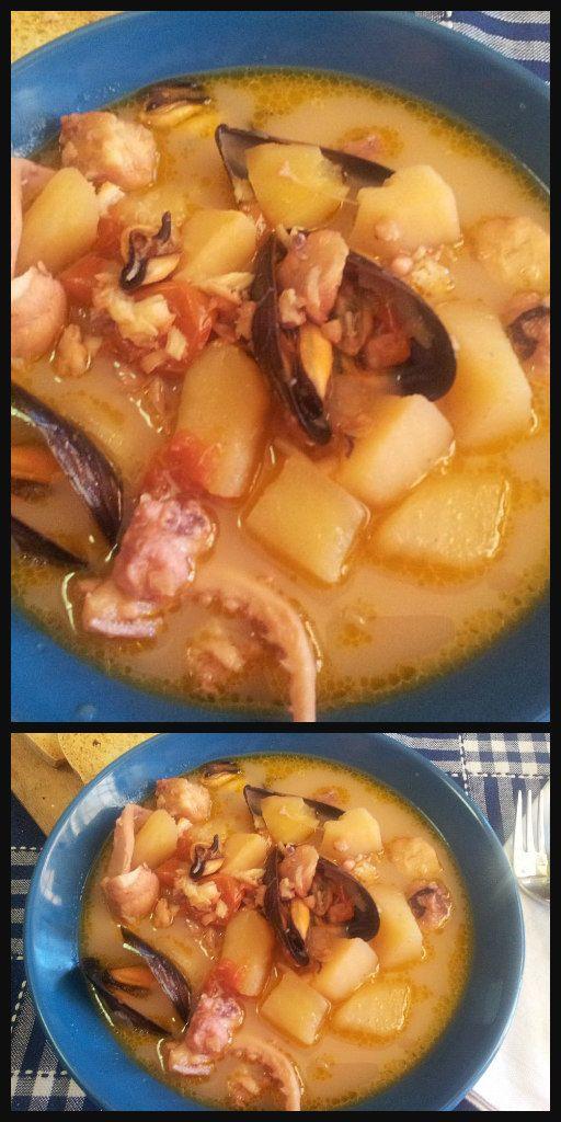 Zuppa di pesce con patate senza spine ! #zuppa #zuppadipesce  #zuppadipatate #zuppadipescesenzaspine #ricettegustose