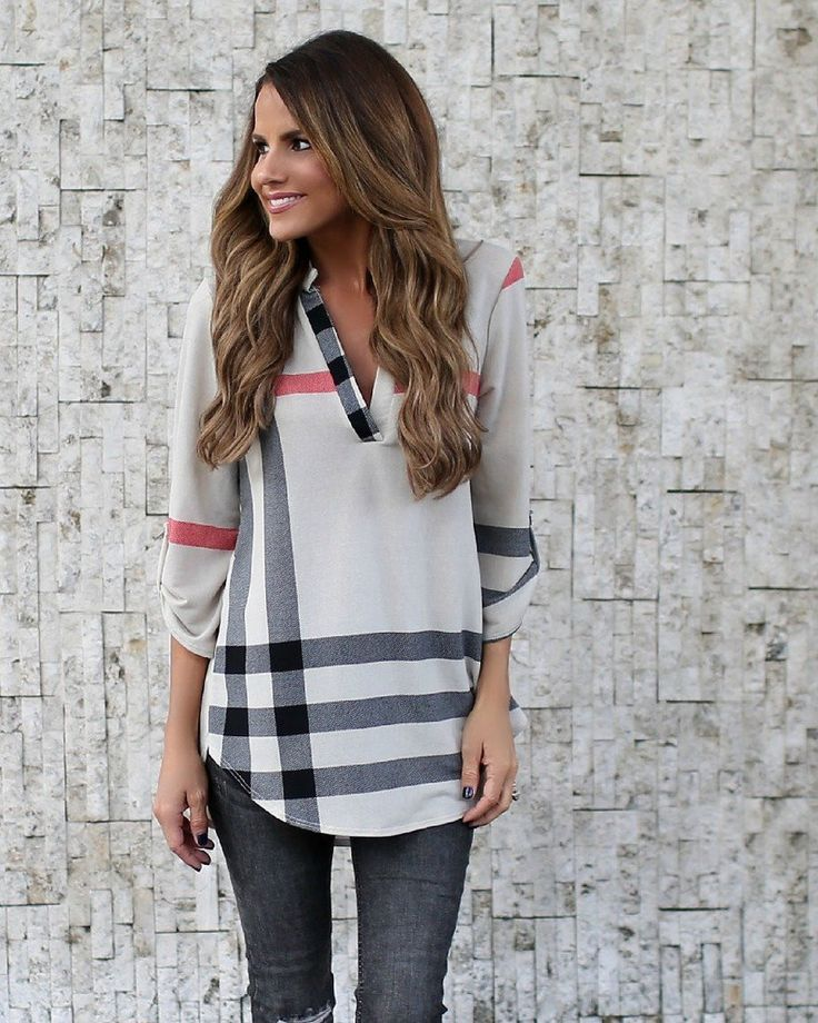 Best 25  Plaid tunic ideas on Pinterest | Flannel and leggings ...