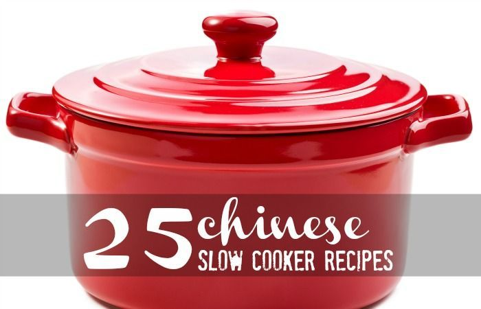 25 Chinese Slow Cooker Recipes...maybe for dinner tonight!?!?!