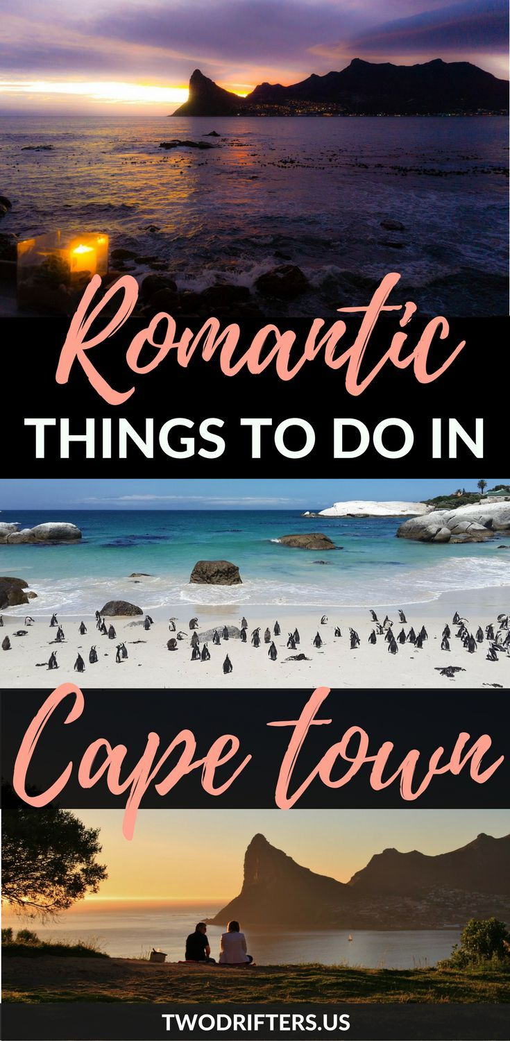 Traveling to South Africa with your partner? This list of romantic things to do in Cape Town will ensure your adventure is one full of love and excitement. #CapeTown #Africa