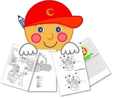 Δραστηριότητες-φύλλα εργασίας για παιδιά